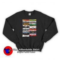 Golden Age Hip Hop Gangsta Rap Sweatshirt