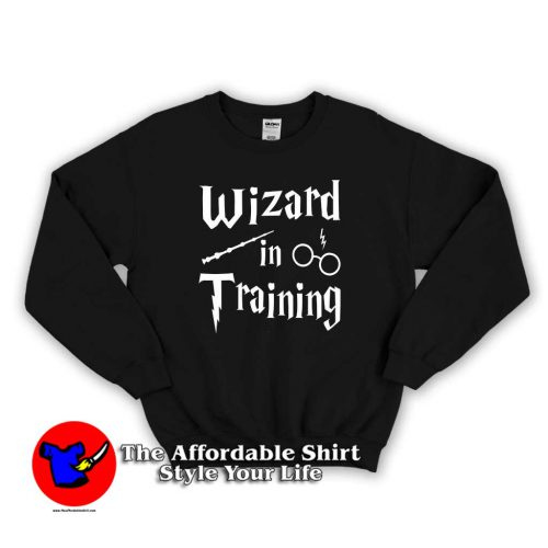 Harry Potter The Wizzard In Training 500x500 Harry Potter The Wizzard In Training Sweatshirt