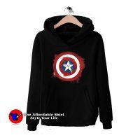 Logo Captain America Avengers Endgame Hoodie