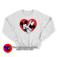 Mickey Minnie Valentine Cute Sweatshirt