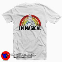 St Patrick's Day Magical Rainbow Unicorn T-Shirt