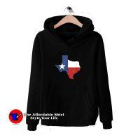 Texas State Flag Map Hoodie Cheap