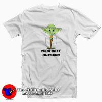 The Mandalorian Yoda Best Husband T-Shirt Cheap