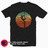 Vintage Aerialist Acrobatic Dancer Tee Shirt