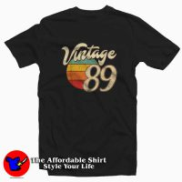 Vintage Retro 89 T-Shirt Cheap