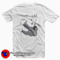 We Bare Bears Panda Internet Likes T-Shirt