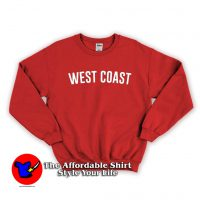 West Coast Graphic Sweatshirt