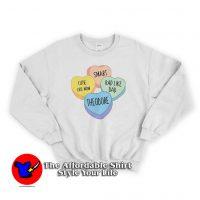 Personalized Valentines Unisex Sweatshirt