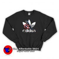 Adidas X MCU Captain America Marvel Sweatshirt