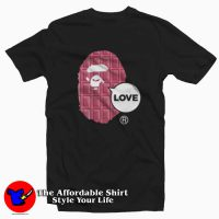 Bape Milo Speak Love T-Shirt