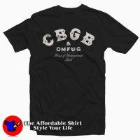 CBGB New York Rock Club T Shirt