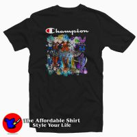 Champion Dragon Ball Characters Funny T-Shirt