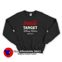 Coca Cola Target Disney World Repeat Sweatshirt