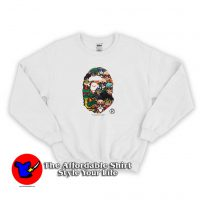 Dragon Ball Z Exclusive Ape Head Sweatshirt