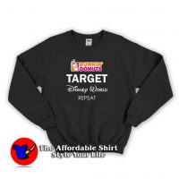 Dunkin Donuts Target Disney World Repeat Sweatshirt