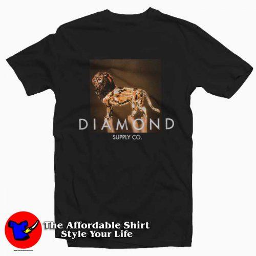 Geo Lion 500x500 Diamond Supply Geo Lion T Shirt Diamond Supply Collection