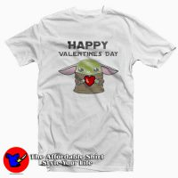Happy Valentines Baby Yoda T-Shirt