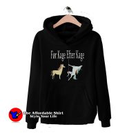 Horse And Unicorn For Kage Efter Kage Hoodie