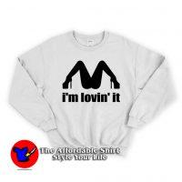 I'm Lovin'it Mc Donald's Sweatshirt