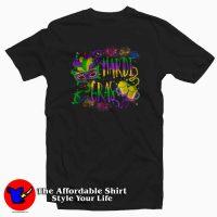 Cheap Mask & Beer Mardi Gras T-Shirt