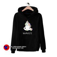 Namaste Unicorn Meditation Yoga Funny Hoodie