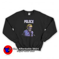 Palace Elton Purple Cheap Sweatshirt