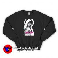 Sasha Grey Pornostar Holy like a Virgin Sweatshirt