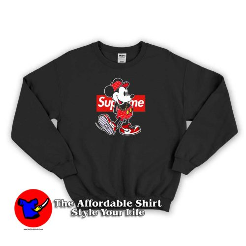 Son Goku Dragon Ball Supreme 500x500 Old Disney Mickey Mouse Style Supreme Sweatshirt Supreme Collection