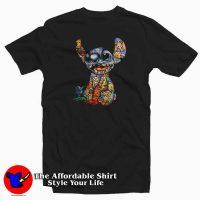 Stitch The World Of Disney Tattoos T-Shirt