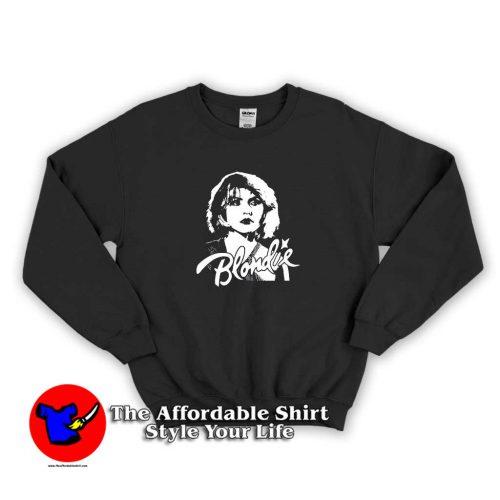 Blondie Vintage Rock 80s Band Sweater 500x500 Blondie Vintage Rock Band 80s Unisex Sweatshirt Cheap