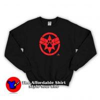 Captain Marvel Goose Cat Paw Symbol Sweatshirt