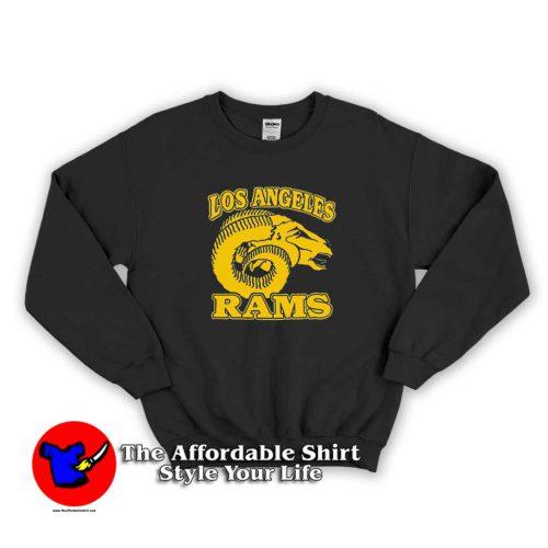 LA Rams Retro Logo Sweater 500x500 LA Rams Retro Logo Unisex Sweatshirt Cheap
