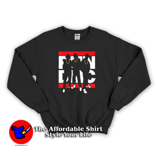 Run DMC Official Silhouette Sweater 500x500 Run DMC Official Silhouette Graphic Sweatshirt Cheap