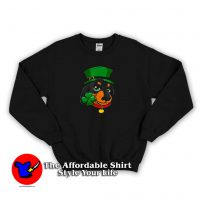 St Patricks Day Leprechaun Dog Lover Sweatshirt