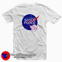 Nasa Parody Peppa Pig Space force Funny T-Shirt
