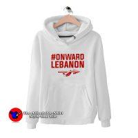 #Onward Lebanon Graphic Funny Hoodie