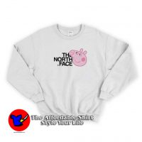 The Face X Peppa Pig Parody Funny Sweatshirt