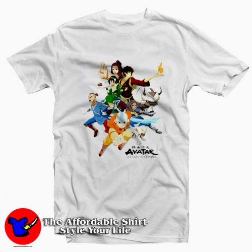 Avatar The Last Airbender a Tshirt 500x500 Avatar The Last Airbender Unisex T Shirt Cheap