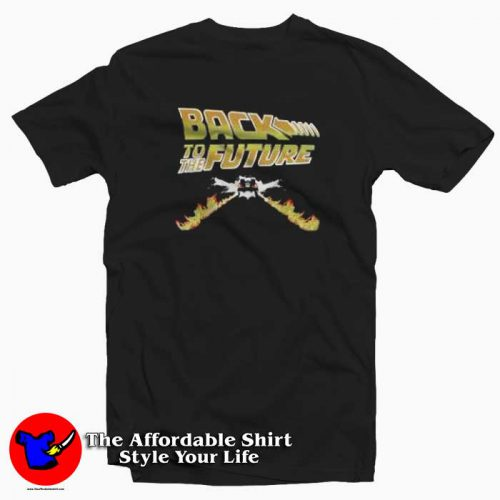 Back To The Future Graphic Tshirt 500x500 Back To The Future Graphic T Shirt Cheap