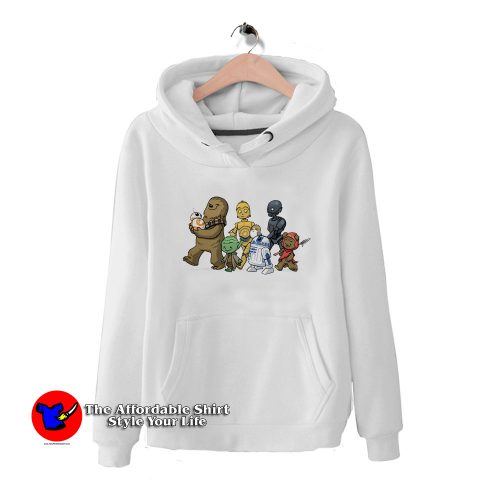 Chewie Yoda R2d2 Porg Star Wars Unisex Hoodie HoodieTAS 500x500 Chewie Yoda R2d2 Porg Star Wars Unisex Hoodie Cheap