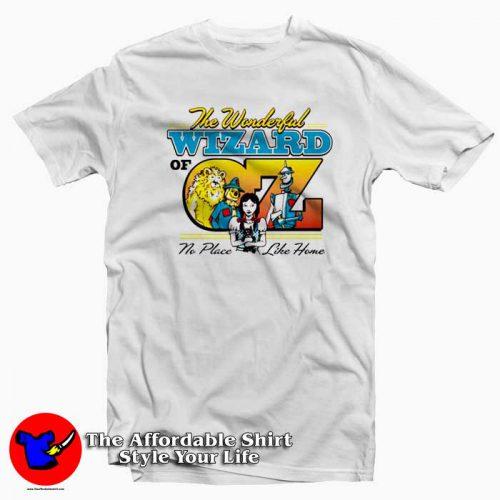 Classic Wizard of Oz Tshirt 500x500 The Wonderful Classic Wizard Of Oz Unisex T Shirt Cheap