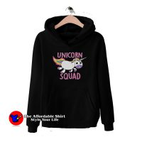 Cute Unicorn Squad Unisex Hoodie