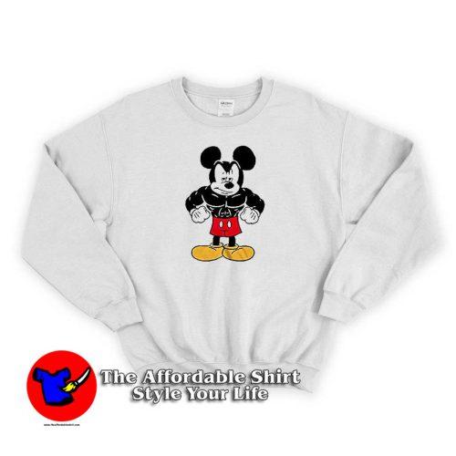 Disney Tough Mickey Mouse Sweater 500x500 Disney Tough Mickey Mouse Graphic Sweatshirt Cheap