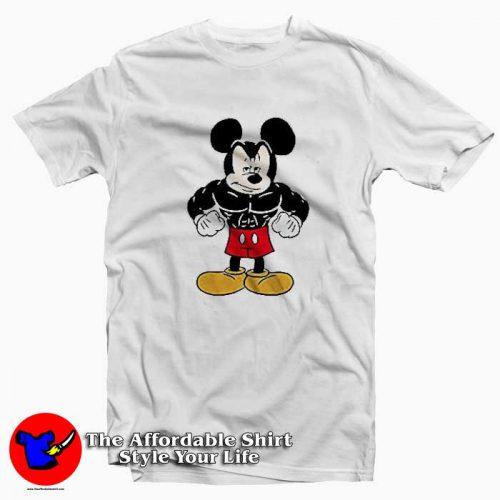 Disney Tough Mickey Mouse Tshirt 500x500 Disney Tough Mickey Mouse Graphic T Shirt Cheap