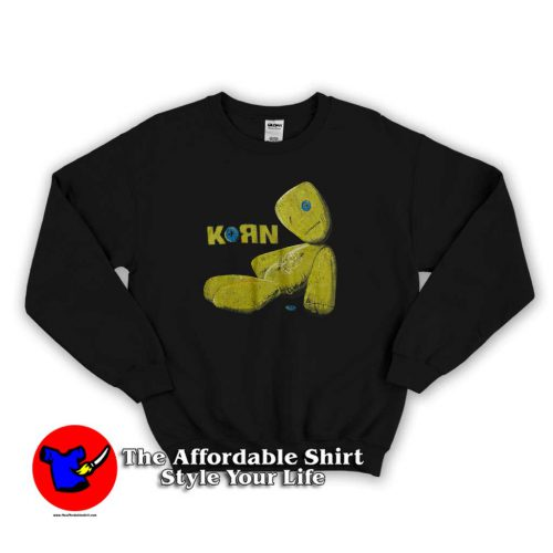 Korn Issues Album Art Sweater 500x500 Korn Issues Album Art Unisex Sweatshirt Cheap