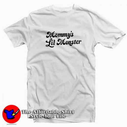 Mommy's Lil Monster Graphic Tshirt 500x500 Mommy's Lil Monster Graphic T Shirt Cheap