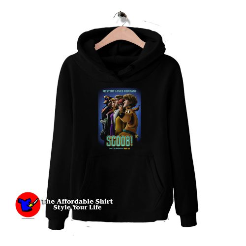New Scooby doo Poster Movie HoodieTAS 500x500 New Scooby Poster Movie Mystery Loves Company Hoodie Cheap