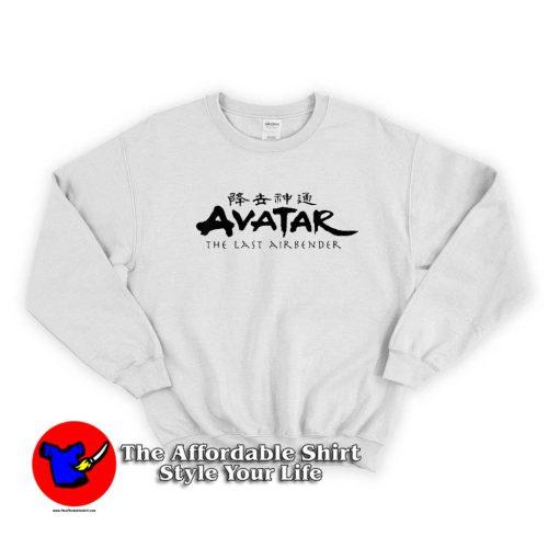 Nickelodeon Avatar The Last Airbender Logo Sweater 500x500 Nickelodeon Avatar The Last Airbender Sweatshirt Cheap