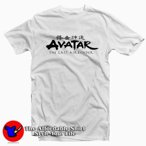 Nickelodeon Avatar The Last Airbender Logo Tshirt 500x500 Nickelodeon Avatar The Last Airbender T Shirt Cheap
