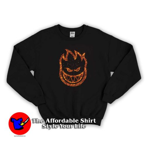 Spitfire Bighead Embers Graphic Sweater 500x500 Spitfire Bighead Embers Graphic Sweatshirt Cheap